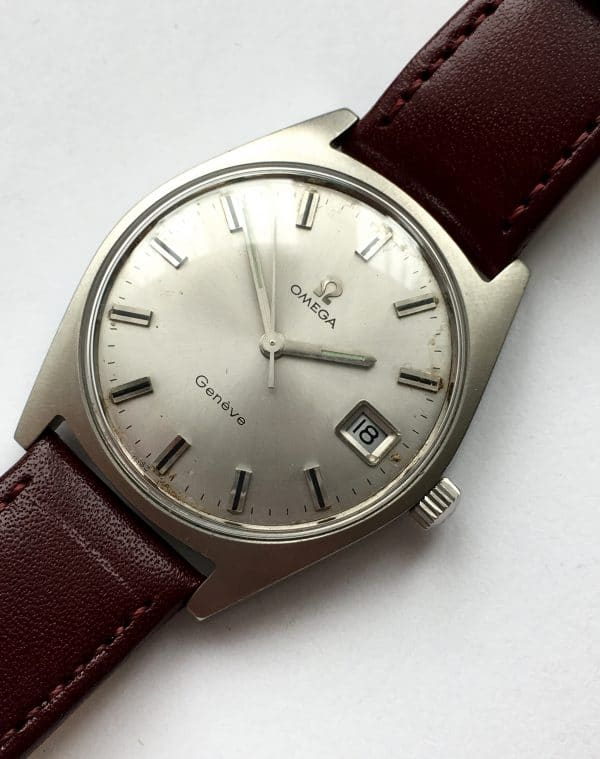 Serviced  Omega Geneve Vintage Steel