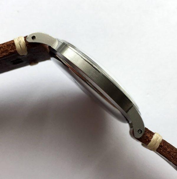Serviced Omega Chronometer Vintage 36mm Steel 1945