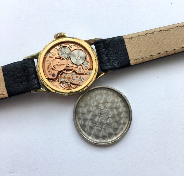 Small Omega Ladies Watch Vintage gold plated