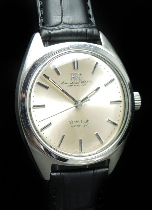 Perfect IWC Automatic Yacht Club Steel