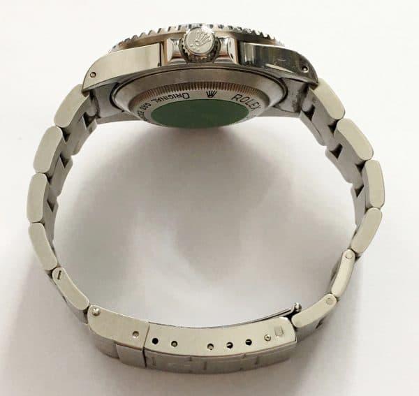Stickered Rolex Sea Dweller 16600 Vintage Tritium Dial