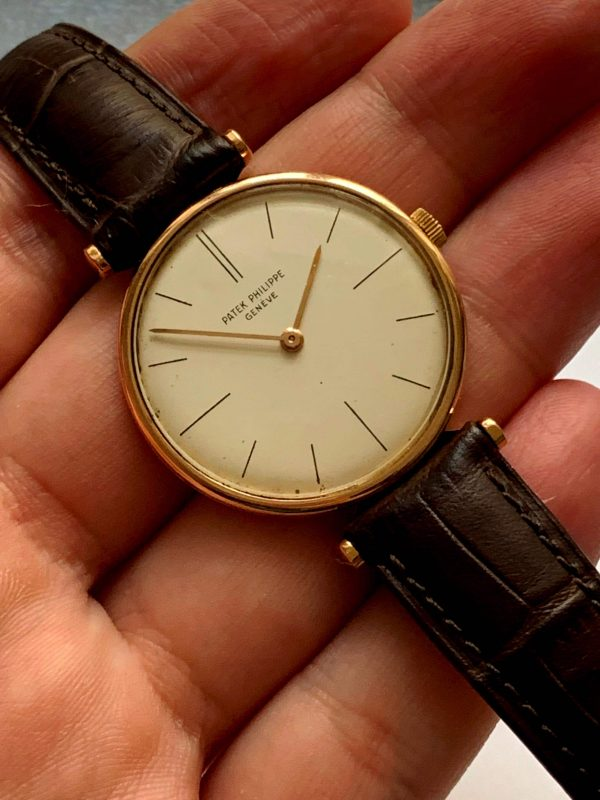 IWC Solid Gold Teardrop Case Vintage cal 89 37mm