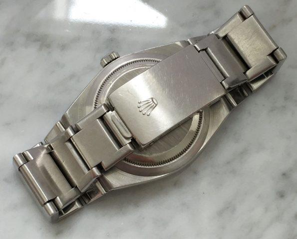 Refurbished Black Dial Rolex Oysterquartz