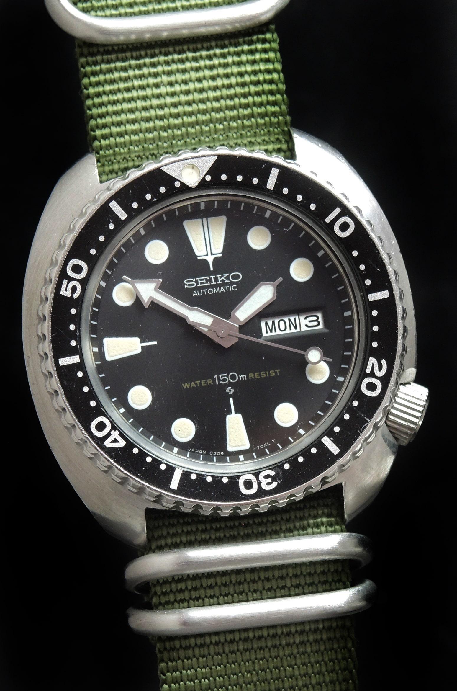1980 Vintage Seiko Turtle Unrefurbished Tritium Dial