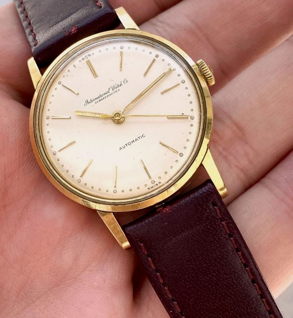 IWC Solid Gold Vintage Automatic 34mm Serviced