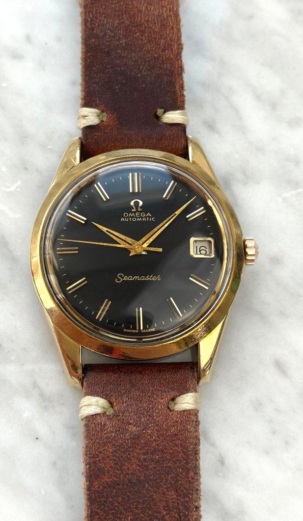Omega Seamaster Automatic Vintage Black Restored Dial