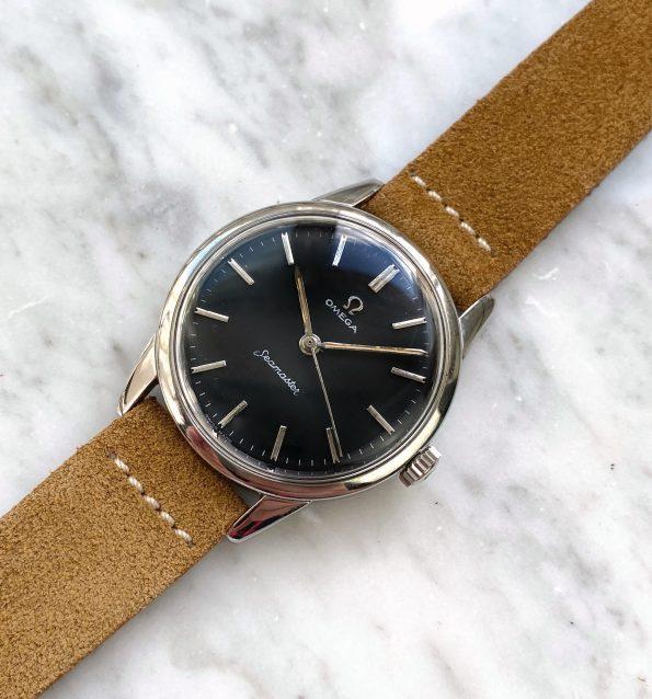 Omega Seamaster Handwinding Restored Black Dial Vintage