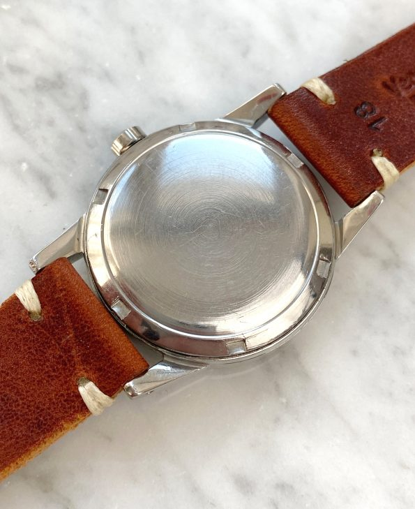Omega Seamaster Automatic Vintage Black Restored Dial Bumper Fat Lugs