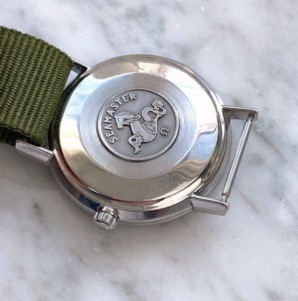 Serviced Omega Seamaster Handwinding Vintage Restored Black Dial