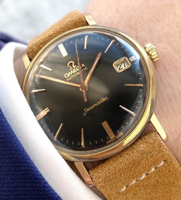 Omega Seamaster Pre De Ville Automatic Vintage Black Restored Dial