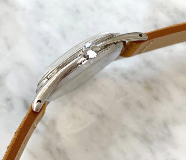 38mm Vintage Omega Oversize Jumbo White 30t2 Restored Bullseye Dial