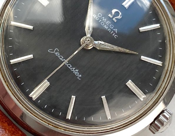 Wonderful Omega Seamaster Automatic Vintage Black Restored Dial