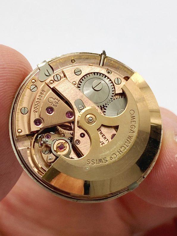 Omega Seamaster Pre De Ville Automatic Vintage Rare Linen Dial Date