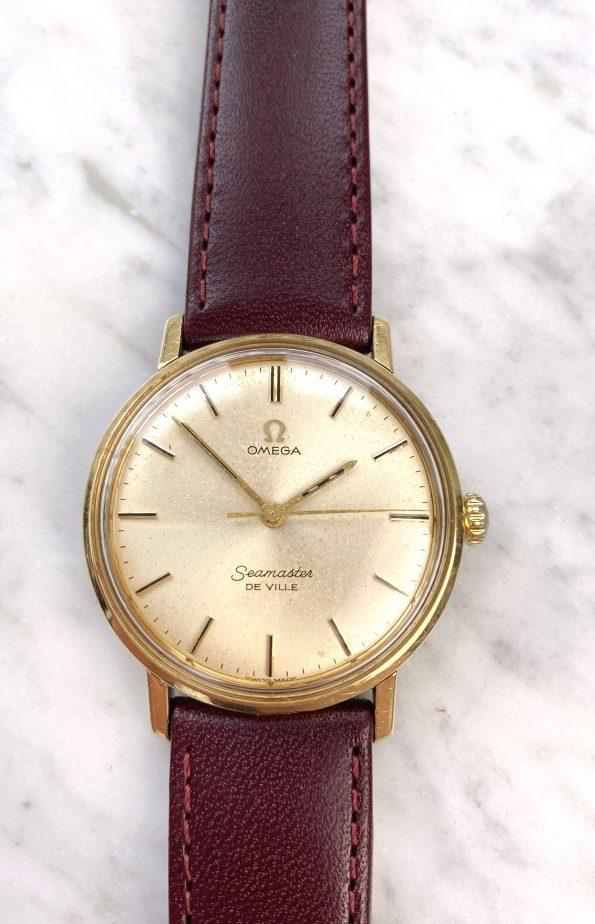 Omega Seamaster De Ville Handaufzug Kaliber 601 Vintage Vergoldet