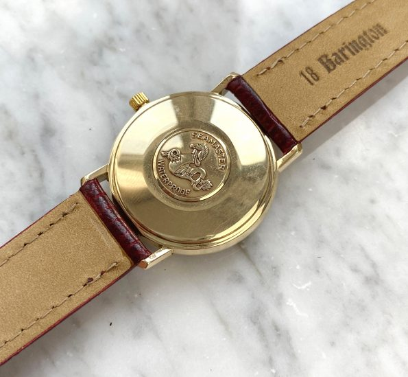 Serviced Omega Seamaster De Ville Handwinding Vintage Solid Gold
