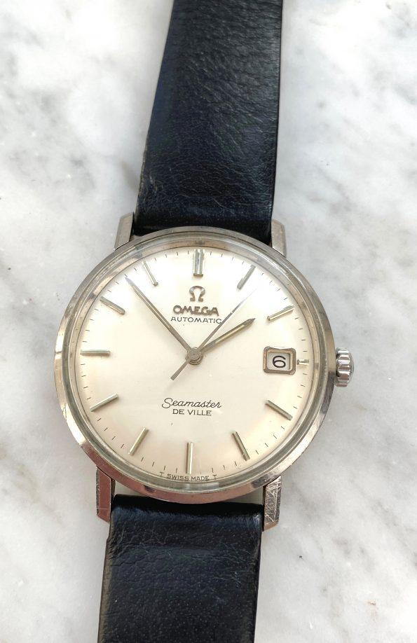 Omega Seamaster De Ville Automatic Vintage Steel Date