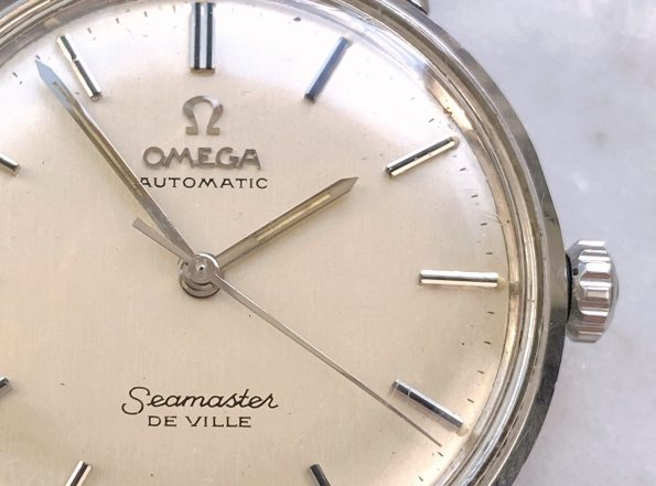 Omega Seamaster De Ville Automatic Vintage Steel