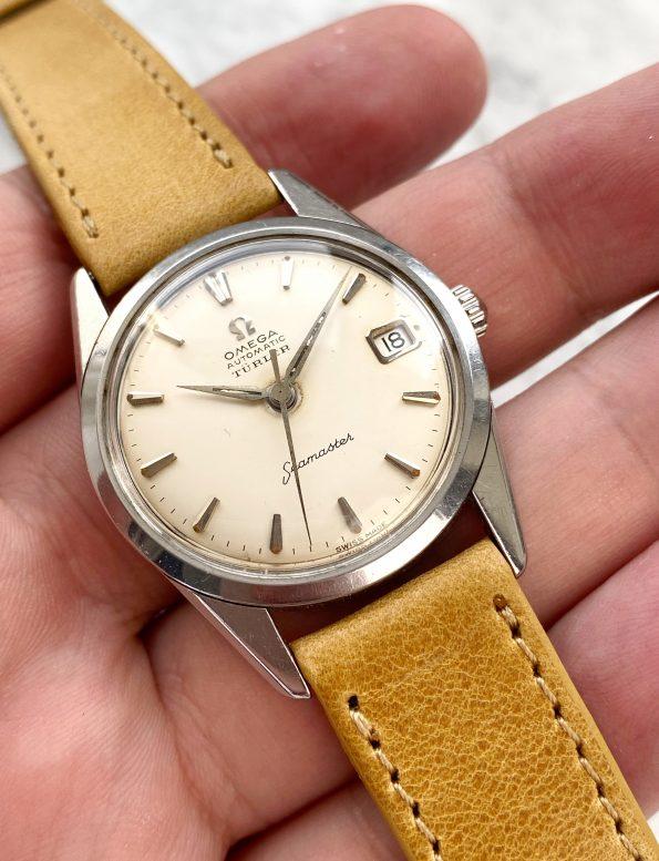 Omega Seamaster Türler Vintage Automatic Steel Date