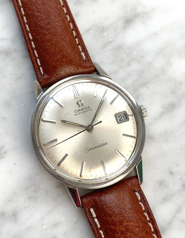 Omega Seamaster Automatic Vintage Steel with Dauphine Hands and Date