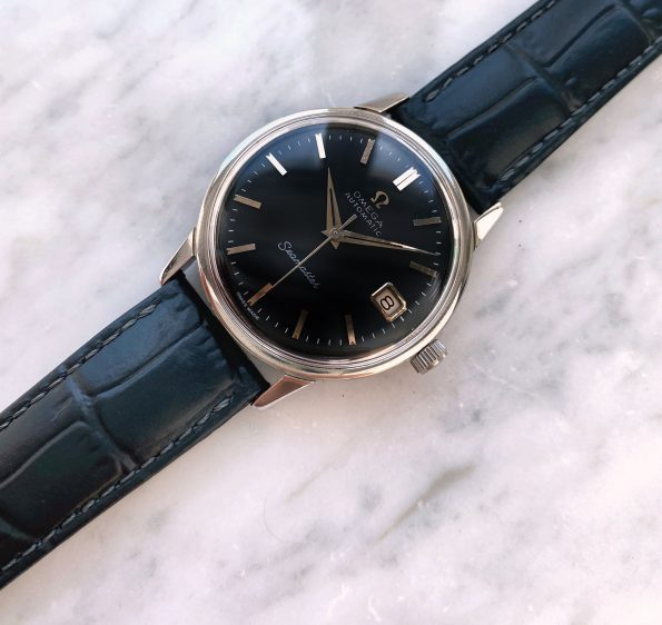 Omega Seamaster Automatic Vintage Black Restored Dial Date