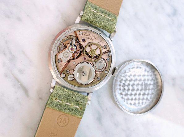 SELTENE Servicierte Vintage Omega 35mm Chronometre Stahl Tropical ref 2367 Calatrava 30t2rg