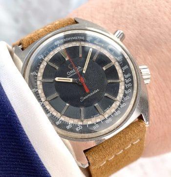 Servicierte Vintage Omega Seamaster Chronostop 145.007