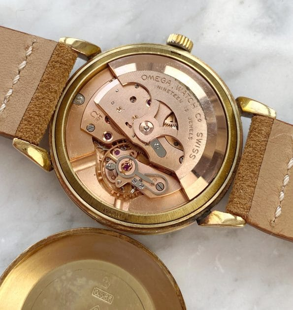 Vintage Omega Solid Gold 14ct Automatic Unrestored Dial