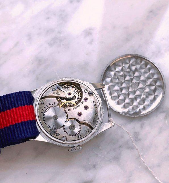 Small 30.5mm Omega Ladies Calatrava Sector Dial Vintage