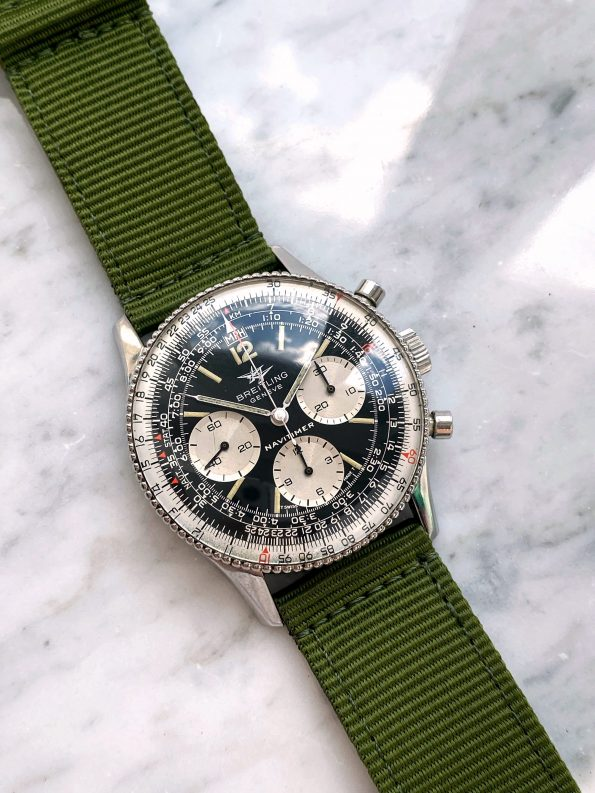 Vintage Breitling Navitimer 806 Steel Very Good Condition