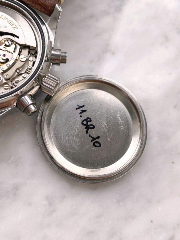 Superrare Zenith el Primero de Luca MK2 Vintage Chronograph Reverse Panda Automatic