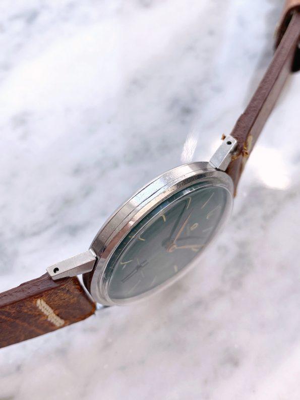 Customised Vintage Omega 37mm Oversize Jumbo Green Restored Dial 2272