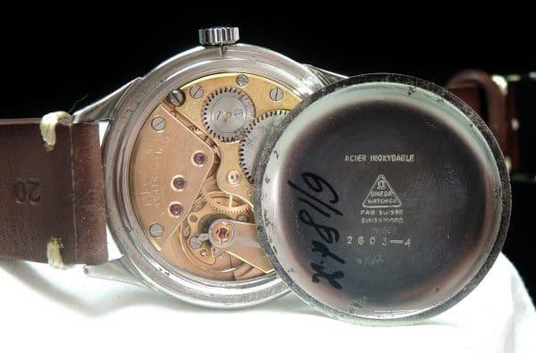 Vintage Oversize Jumbo Omega Cream Dial 37mm