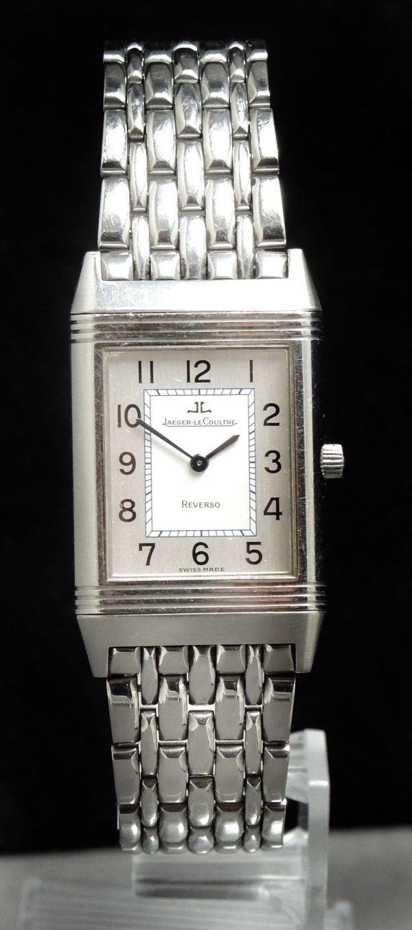 Jaeger LeCoultre Reverso Steel Full Set Box Papers