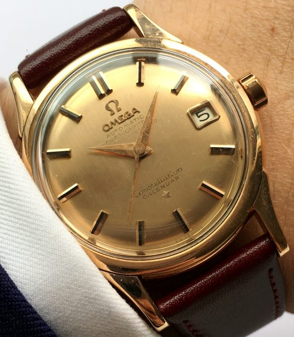 DE LUXE VERSION Omega Constellation Automatic PINK GOLD