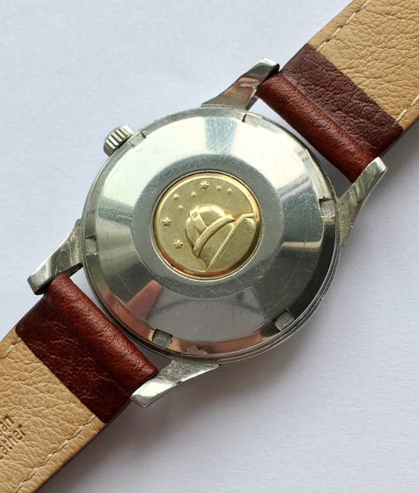 Unpolished Omega Constellation Pie Pan Automatic Stepped Dial