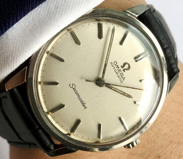 Perfect Omega Seamaster Automatic Linen Dial