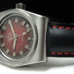 Serviced rare Zenith Defy 28800 Automatic burgundy dial
