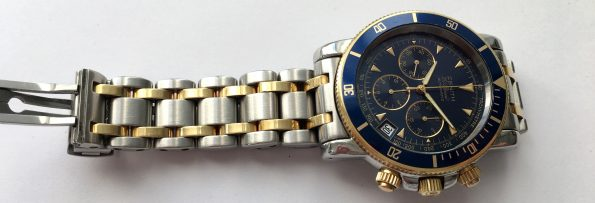 Full Set - Zenith el Primero Rainbow Steel Gold with blue dial