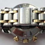 Full Set Zenith el Primero Rainbow Steel Gold blue dial