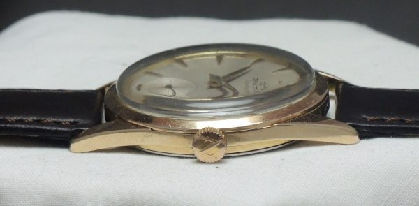 Pink gold plated Vintage Zenith Sporto Chronometer 40T
