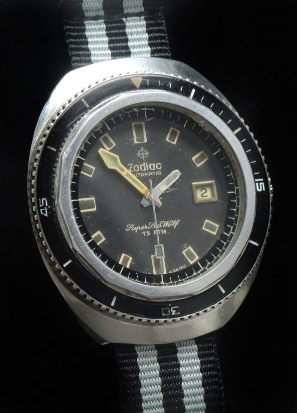 Amazing Zodiac Automatic Super SeaWolf Divers watch